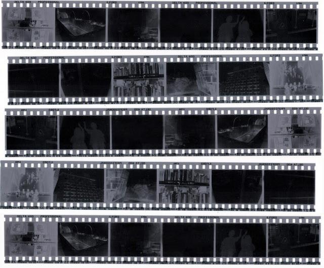 Negatív szkennelés a filmtípus figyelembevételével
